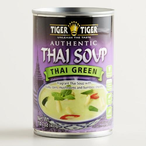 Tiger Tiger Green Curry Soup, Set of 6