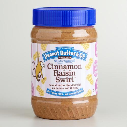 Cinnamon Raisin Swirl Peanut Butter