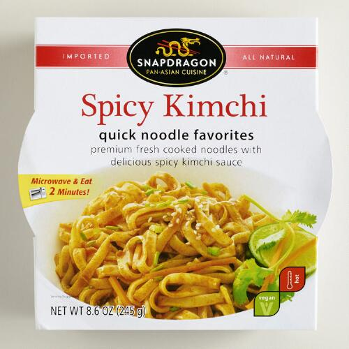 Snapdragon Spicy Kimchi Noodle Bowl