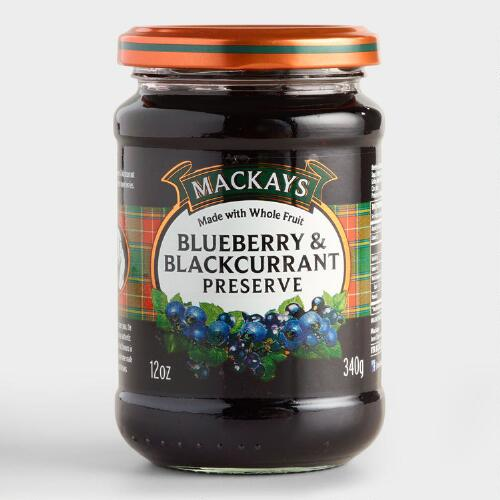 Mackays Blueberry and Blackcurrant Preserve