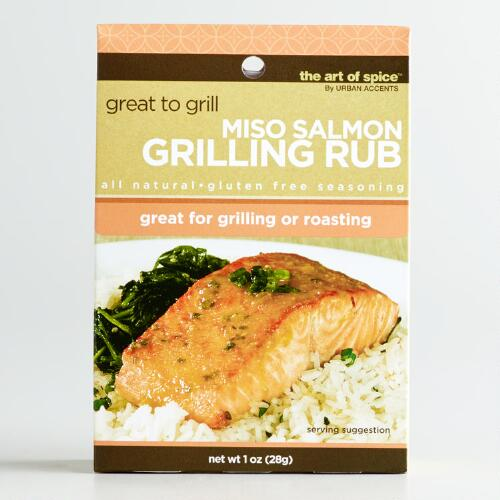 Art of Spice Miso Salmon Rub
