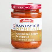 Mezzetta Roasted Bell Pepper and Chipotle Sandwich Spread