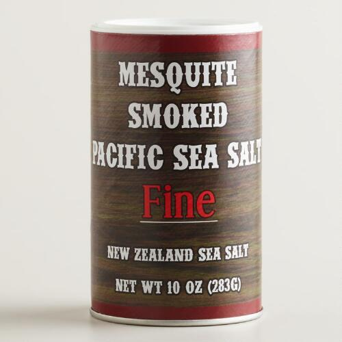 Mesquite Smoked Pacific Sea Salt Fine