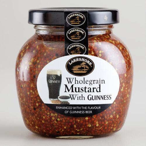 Lakeshore Wholegrain Mustard With Guinness