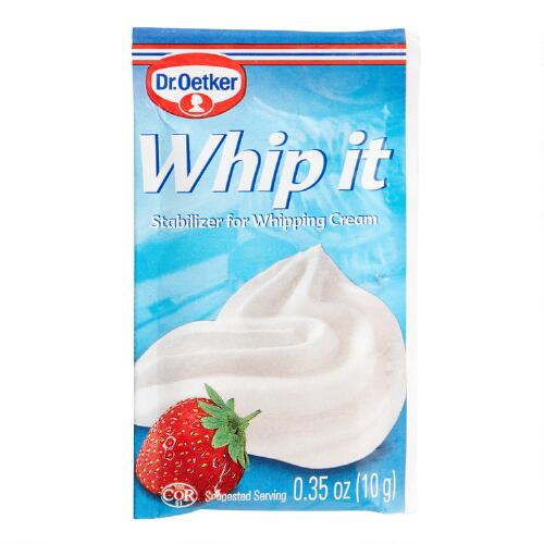 Dr. Oetker Whip It, Set of 6