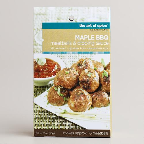 Art of Spice Maple BBQ Meatballs and Dipping Sauce Mix