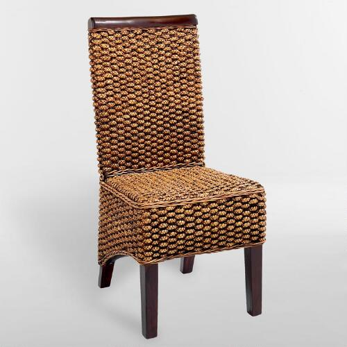 Kaya Woven Dining Chairs, Set of 2