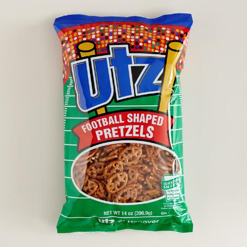 Utz Football Shaped Pretzels