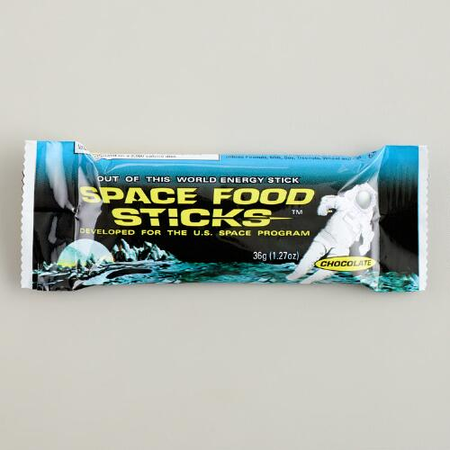 Chocolate Space Food Sticks