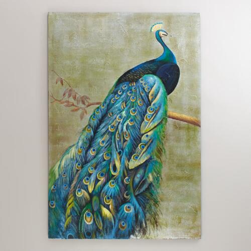 Graceful Peacock Painting
