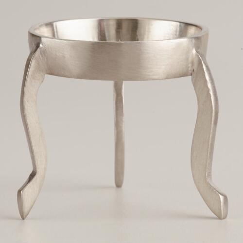 Pewter Egg Stand