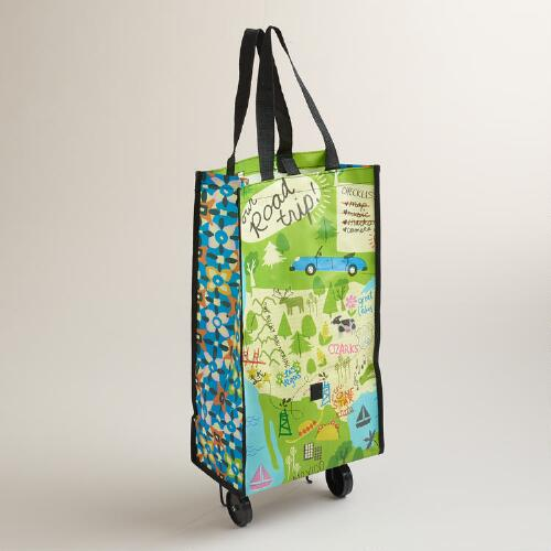 Road Trip Tote with Wheels