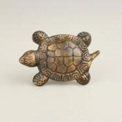 Turtle Metal Knobs, Set of 2