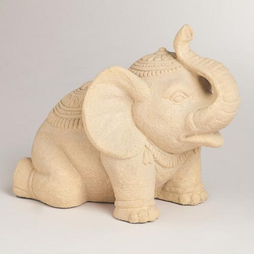 Trumpeting Elephant Decor