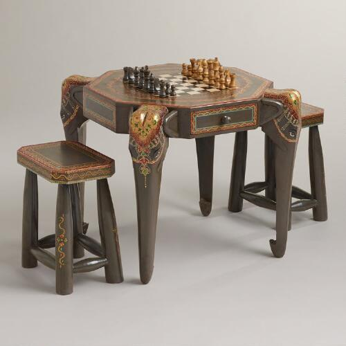 Gray Elephant Game Table Collection