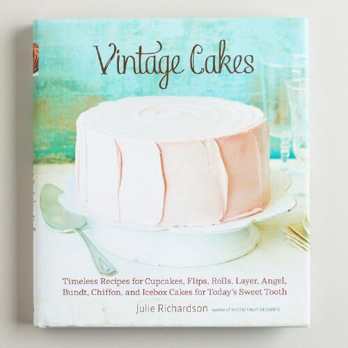 """Vintage Cakes"" Book by Julie Richardson"