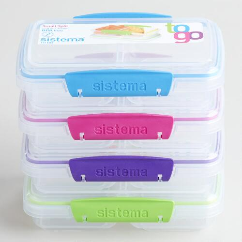 Sistema Klip-It To-Go Split Container