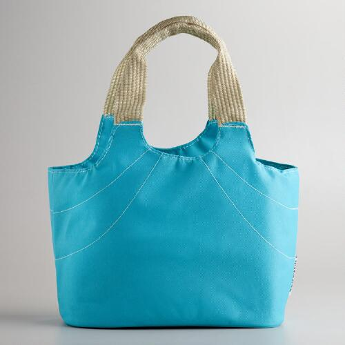 Aqua Anne Insulated Lunch Bag