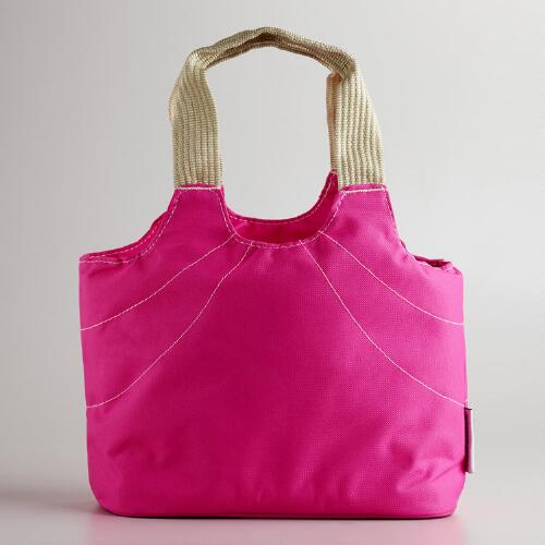 Pink Anne Insulated Lunch Bag