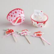 Valentine Cupcakes Kit, 24-Count