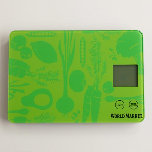 Green Digital Veggie Scale
