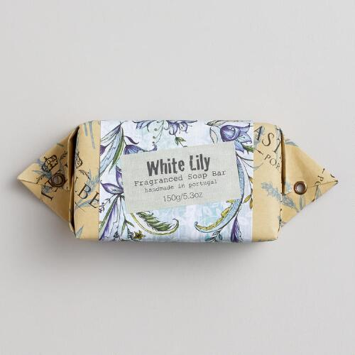 Castelbel White Lily Bar Soap