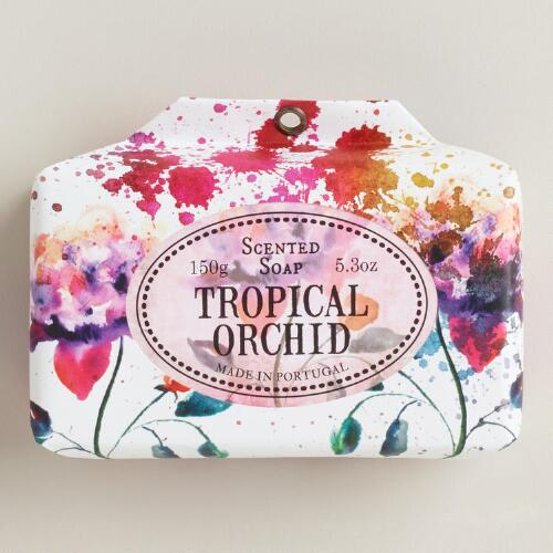 Castelbel Tropical Orchid Bar Soap