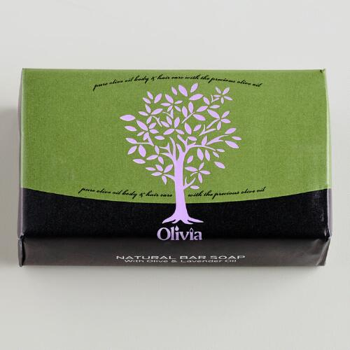 Olivia Lavender Olive Oil Bar Soap