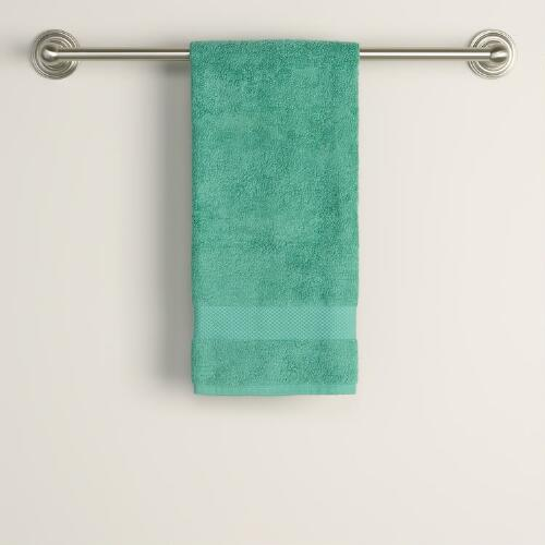 Beryl Green Hand Towel