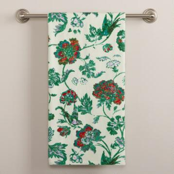 Indochine Floral Bath Towel