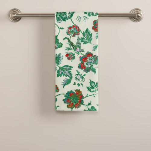 Indochine Floral Hand Towel