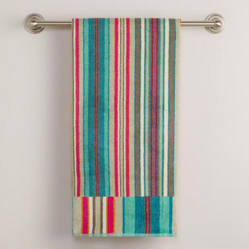 Striped Albert Bath Towel