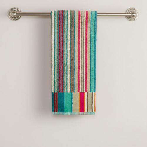 Striped Albert Hand Towel
