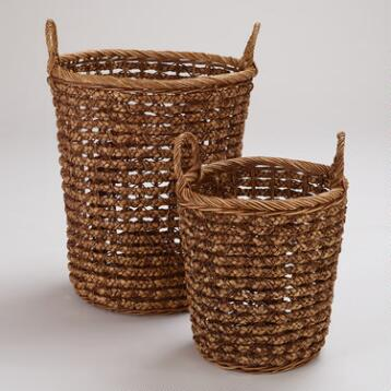Brianna Braided Tote Baskets