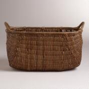 Lorenzo Rattan Magazine Holder