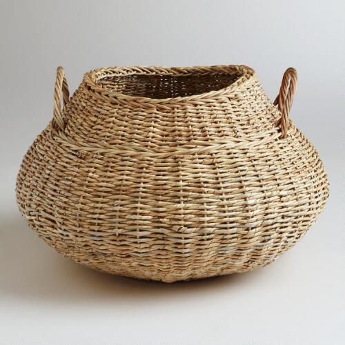 Round Natural Avery Basket