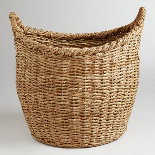 Oversized Natural Avery Basket