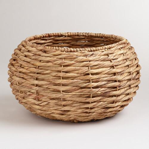 Natural Round Jordan Basket
