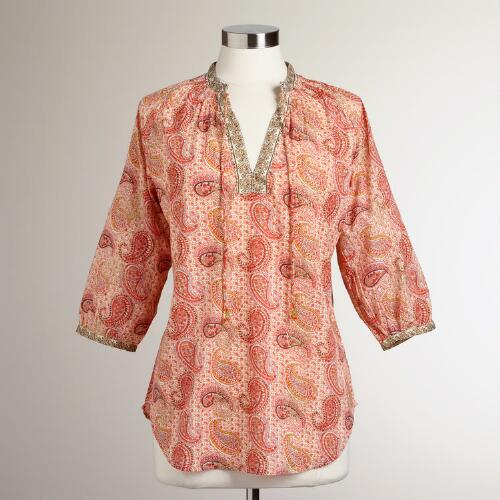 Soft Paisley Ina Tops