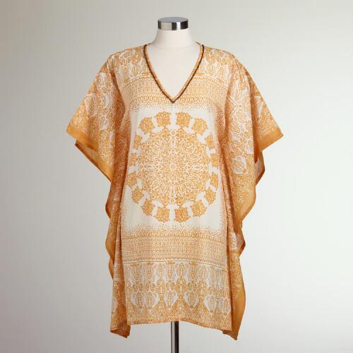 Short Yellow Ankia Kaftans