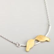Birds Kissing Necklace