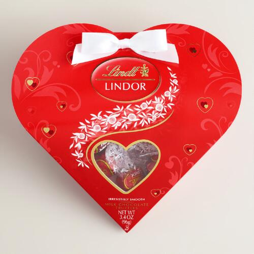 Lindor Mini Heart Milk Chocolate Truffles