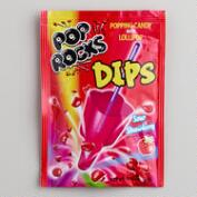 Sour Strawberry Pop Rocks Dips
