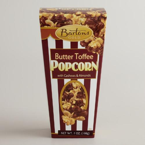 Bartons Butter Toffee Popcorn with Cashews & Almonds