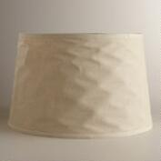 Collapsible Canvas Floor Lamp Shade