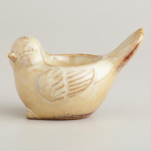 Ceramic Bird Tealight Candleholder