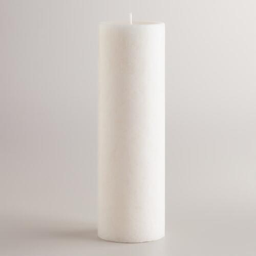 "3"" x 9"" English Gardenia Pillar Candle"