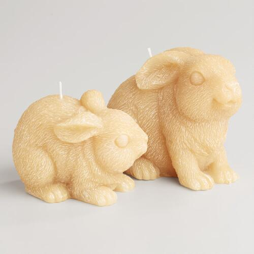 Bunny Candles