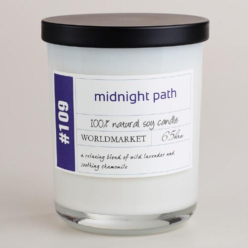 Midnight Path Soy Filled Jar Candle