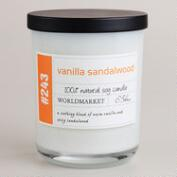 Vanilla and Sandalwood Soy Filled Jar Candle